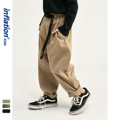 Wolandorf - Kids Elastic-Waist Wide Pants