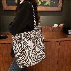 Eastin - 斑馬紋手提袋
