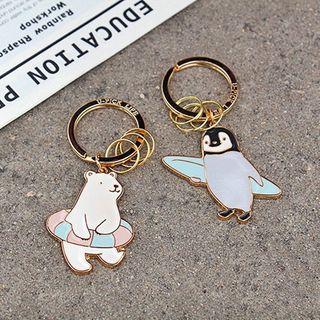 Ballyway - Polar Bear / Penguin Key Chain