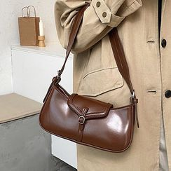 NewTown - Faux Leather Hobo Bag