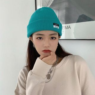 FROME - Applique Knit Beanie