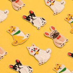 KIITOS - 刺繡狗補丁貼紙 (多款設計)