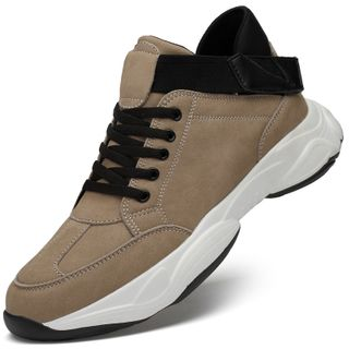 WeWolf - Faux-Leather Lace-Up Sneakers