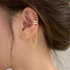 True Glam(トゥルーグラム) - Chain Strap Ear Cuff
