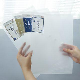 Locasa - A4 Transparent Document Folder