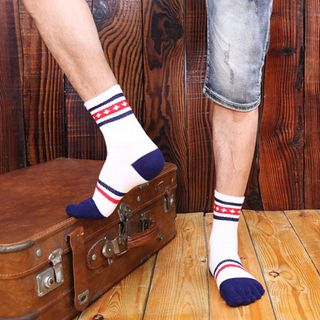 Abarana - Striped Toe Socks
