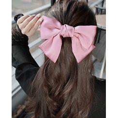 Miss21 Korea - Large Ribbon Hair Barrette