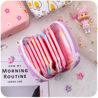 Momoi - Printed Sanitary Pouch (Various Designs)
