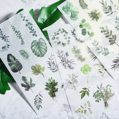 Lamington - Leaf / Food Print Sticker (Various Designs)