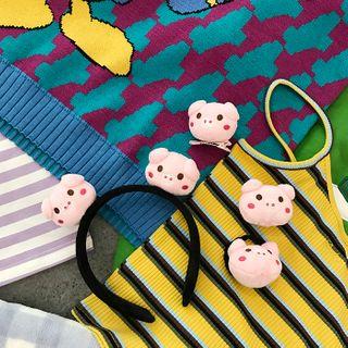 Small Planet - Pig Headband / Hair Clip / Hair Tie