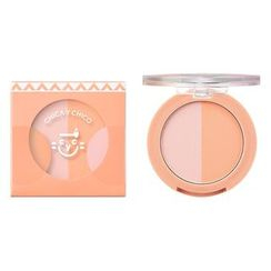 CHICA Y CHICO - One Touch PpyamPpyam Duo Blusher (4 Colors)