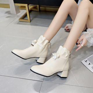 MANMANNI - 粗跟短靴