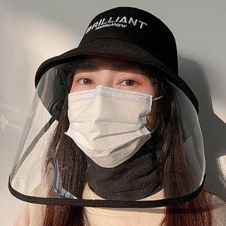 Pompabee - Lettering Transparent Panel Bucket Hat