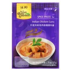 Asian Home Gourmet - Spice Paste for Indian Chicken Curry 50g (Serves 4)