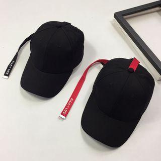 Pompabee - Strap Detail Baseball Cap