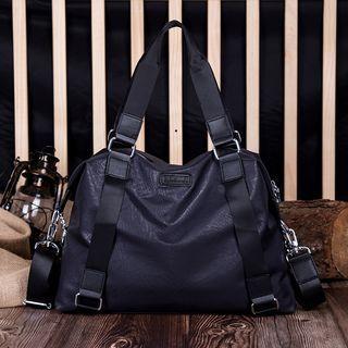 TESU - Faux-Leather Carryall Bag