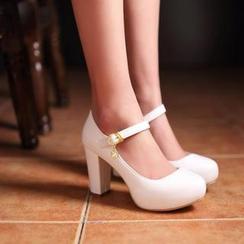 佳美 - 玛莉珍厚底高跟鞋