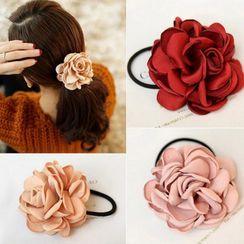 Bowbeam - Flower Fabric Hair Tie