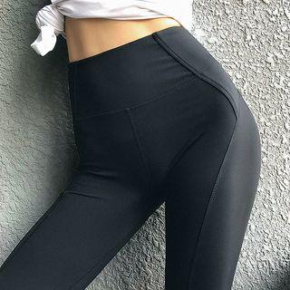 Cara Cloud - 纯色瑜珈裤