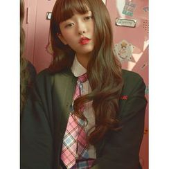 pinkage - Fringed S-Curl Long Full Wig