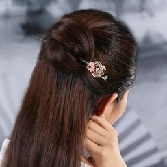 Gangnam - Retro Flower Hair Stick