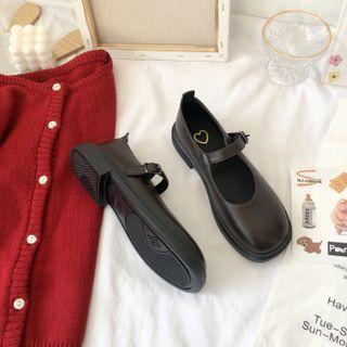 Stevvi - Plain Mary Jane Shoes