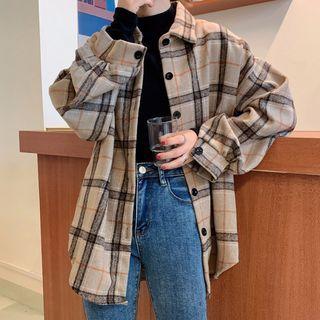 Dute(デュート) - Plaid Shirt Jacket