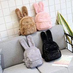 NewTown - 小兔耳朵毛毛背包