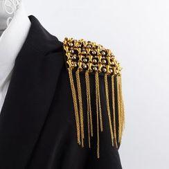 Trend Cool - Studded Chain Epaulette
