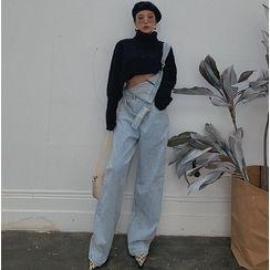 Colada - Wide-Leg Denim Jumper Jeans