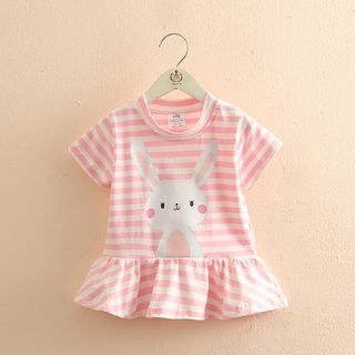 Seashells Kids - Kids Short-Sleeve Rabbit Print T-Shirt