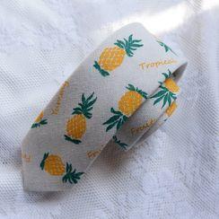 Prodigy - 菠萝印花领结带
