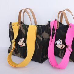 Lemite - Camouflage Mickey Mouse Hand Bag