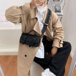 Miloes - Faux Leather Satchel Bag