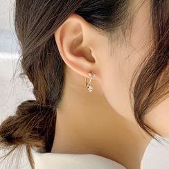 True Glam - Rhinestone Butterfly / Star Earring