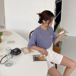 Envy Look(エンビールック) - Letter Print T-Shirt