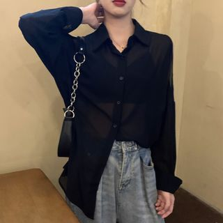 Luna Rouge - Cold Shoulder Shirt