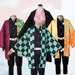Ayumu - Demon Slayer Tanjiro/Nezuko/Zenitsu/Giyu/Shinobu Cosplay Costume