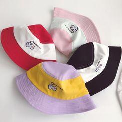 Skylit - 小童刺繡遊戲手柄拼色漁夫帽
