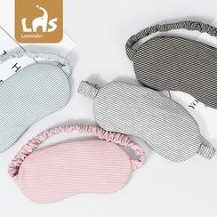 Coomui - 條紋布藝睡眠眼罩