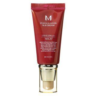 MISSHA - M Perfect Cover BB Cream SPF42 PA+++ (#27 Honey Beige) 50ml