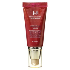 MISSHA - M Perfect Cover BB Cream SPF42 PA+++ (#27 Honey Beige) 50ml