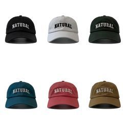 Heloi - Lettering Embroidered Baseball Cap
