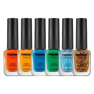 THE FACE SHOP - Trendy Nails (8 Colors)