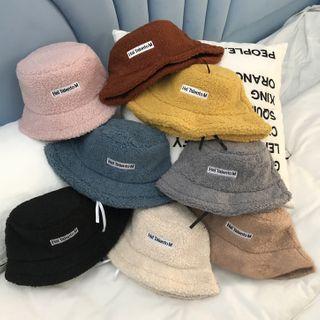 Oktokki - Faux-Shearling Bucket Hat