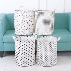Lindo Bags - Dotted Laundry Basket