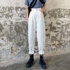 Walzee - Crop Harem Jeans