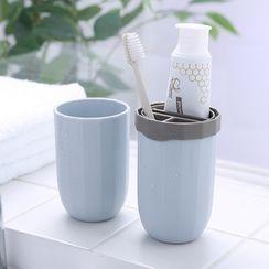 Livesmart - Plastic Toothbrush Cup