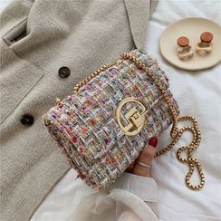 Denyard - Tweed Crossbody Bag
