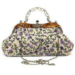 Moonflower(ムーンフラワー) - Floral Handbag